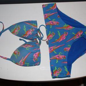 bathing suits; bikinis